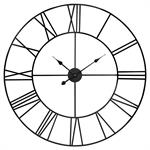 Horloge en métal noir D88